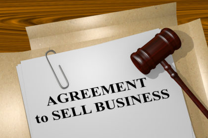 Agreement To Sell Business Concept